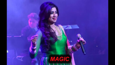 Watching the magic of Shreya Ghoshal live should be on your bucket list
