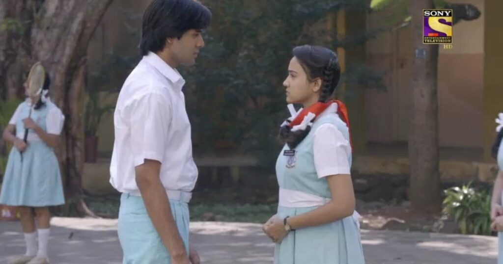 Yeh Un Dinon Ki Baat Hai: Sameer and Naina school moments 6