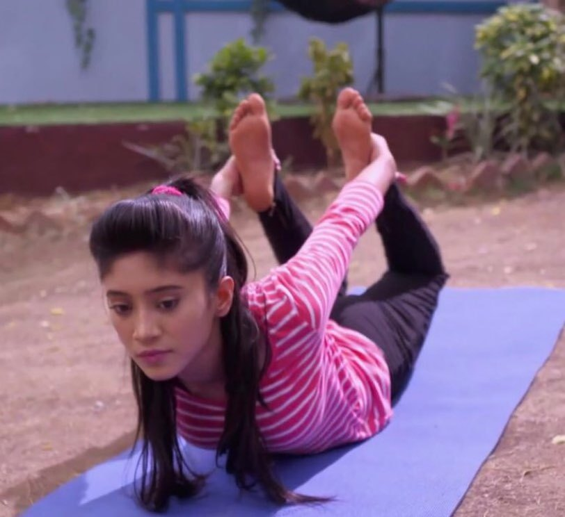 #YogaDay2019: Shivangi Joshi and her love for Yoga 4