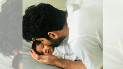Check out the first picture of Iss Pyaar Ko Kya Naam Doon actor Barun Sobti with his daughter Sifat