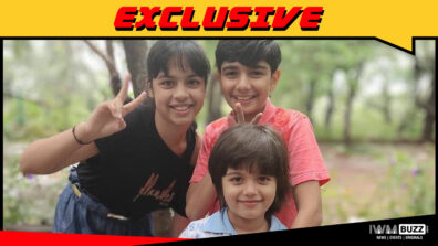 Child artists Varun Buddhadev, Nitanshi Goel and Vidhaan Sharma in ZEE5's 7 Days Without You