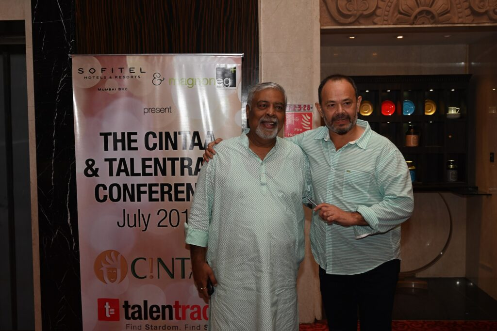 CINTAA and Talentrack association announcement party was a rocking affair!