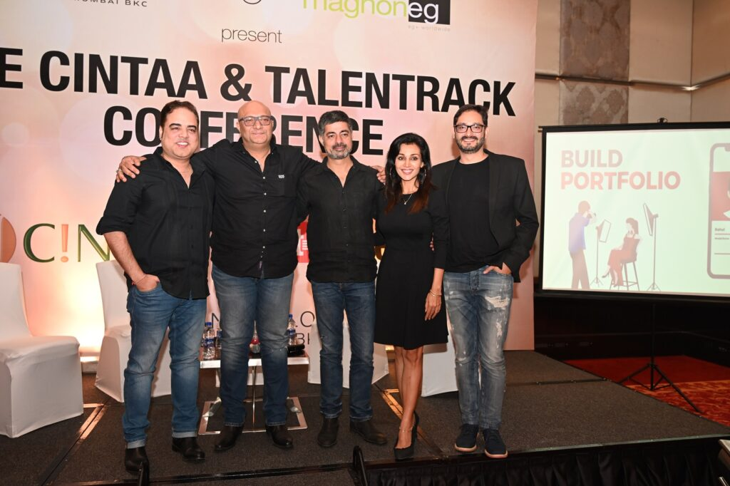 CINTAA and Talentrack association announcement party was a rocking affair! 28