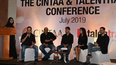 CINTAA and Talentrack association announcement party was a rocking affair! 30