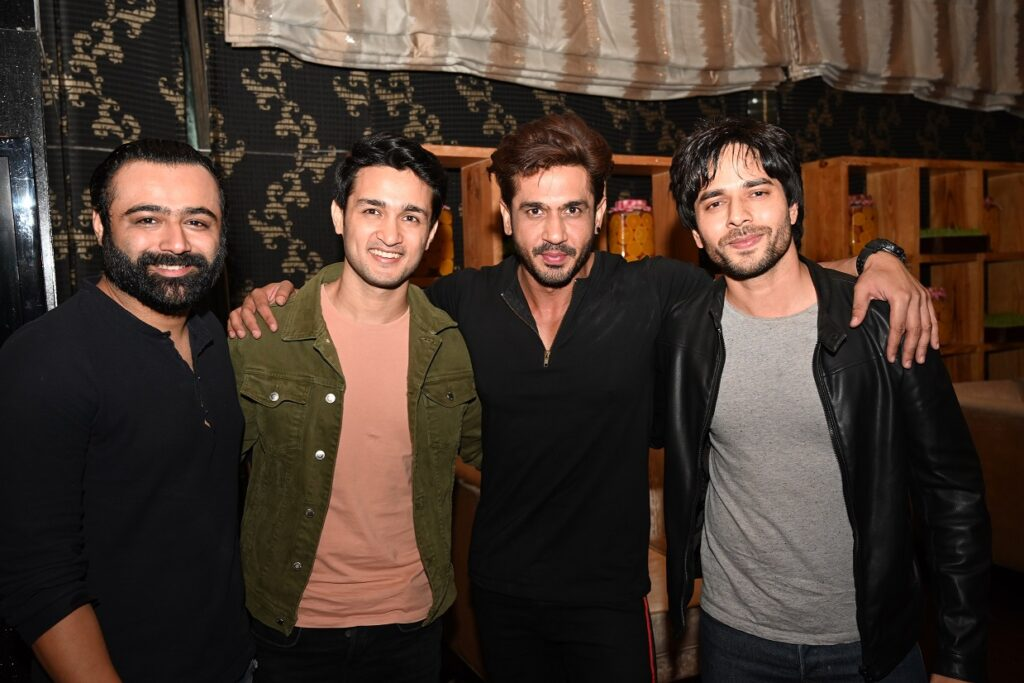 CINTAA and Talentrack association announcement party was a rocking affair! 5