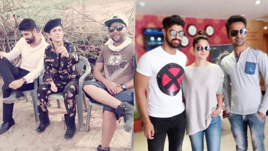 Code M actors Jennifer Winget and Tanuj Virwani caught on camera