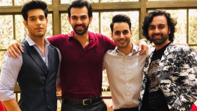 'Coffee with Karan' on the set of Kahaan Hum Kahaan Tum