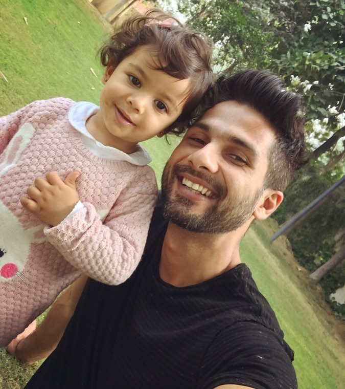 Cutest father in town: Shahid Kapoor 1