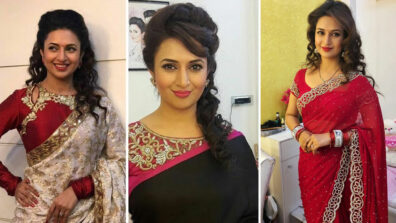 Divyanka Tripathi and her love for sarees
