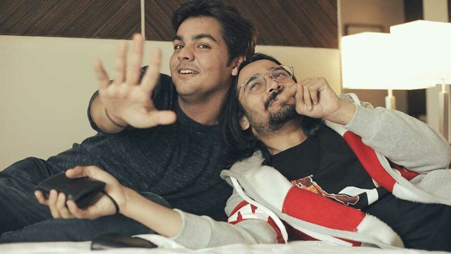 Fun moments of Ashish Chanchlani and Bhuvan Bam