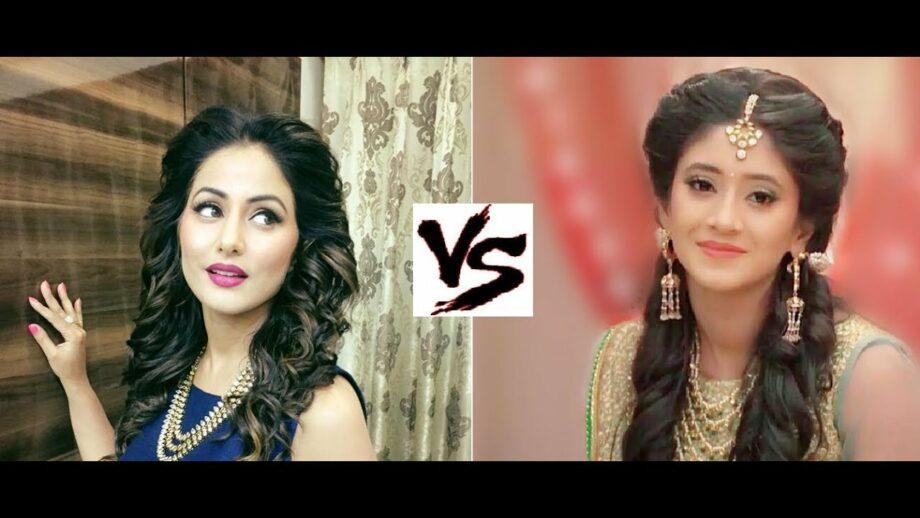 Hina Khan vs Shivangi Joshi: Who slays the fashion game?