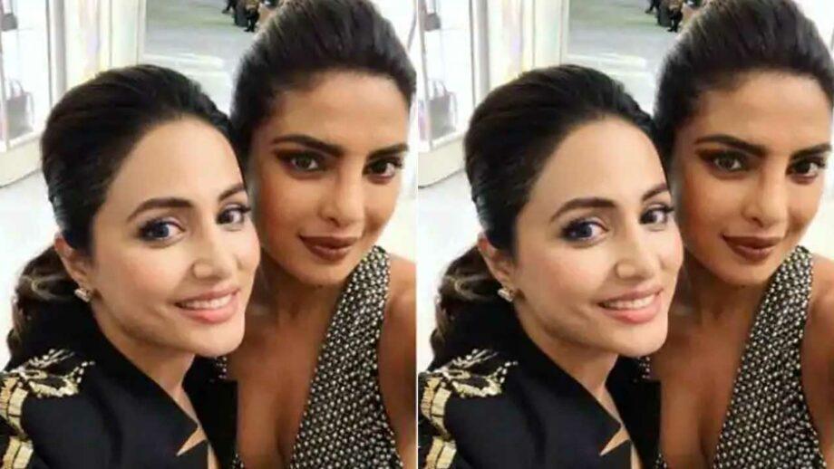 Hina Khan wishes Priyanka Chopra on her birthday