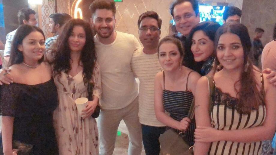 Ishqbaaaz actors Surbhi, Shrenu, Mansi, Zain, Neha bond at movie premiere