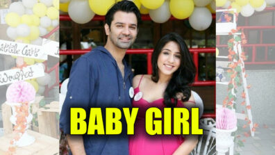 Iss Pyaar Ko Kya Naam Doon actor Barun Sobti and wife Pashmeen become proud parents of a baby girl
