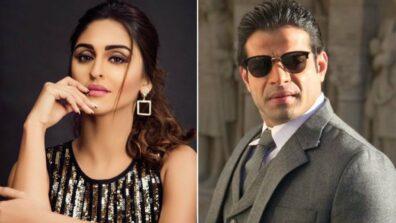 Karan Patel saves Krystle D'Souza 1