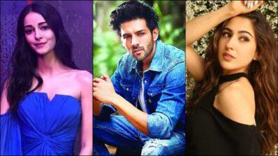 Kartik Aryan-Sara Ali Khan vs Kartik Aryan-Ananya Pandey: Which pair looks the hottest?