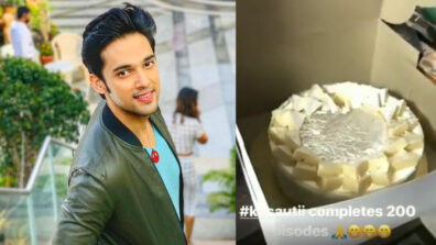 Kasautii Zindagii Kay: Parth Samthaan thanks fans on 200 episodes completion