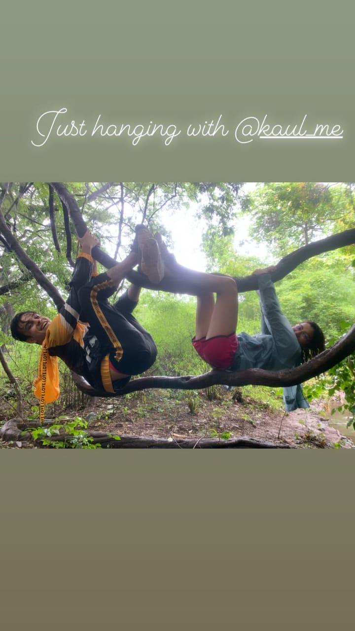 Kumkum Bhagya's Sriti Jha and Krishna Kaul on an adventure together