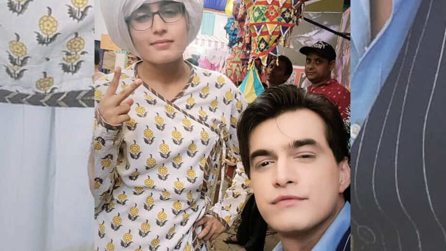 "Mohsin Khan and Rhea Sharma ""chill"" together"