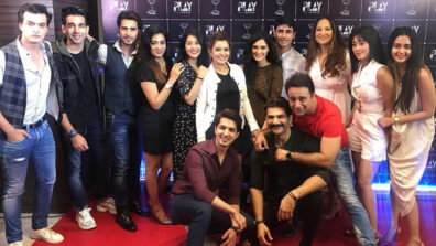 Mohsin Khan, Shivangi Joshi, Pankhuri Awasthy and team Yeh Rishta Kya Kehlata Hai's get together!