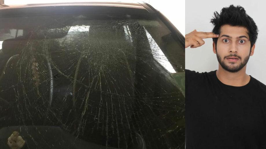 Namish Taneja's car hit by lightning