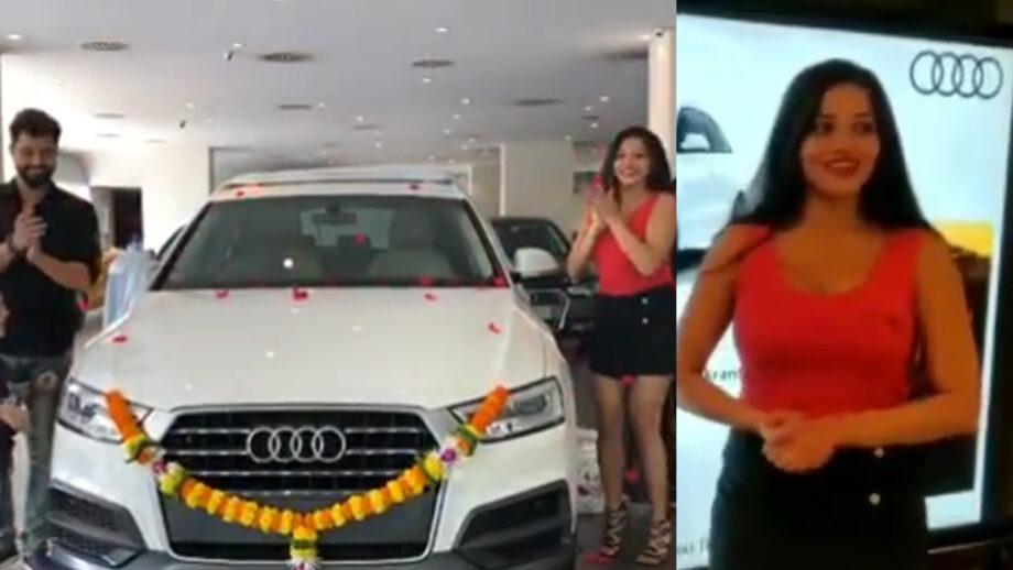Nazar fame Monalisa buys a spanking new car