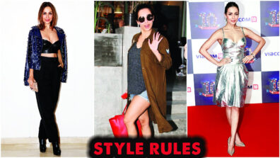 Need some tips to up your fashion game? Follow these style rules by Malaika Arora