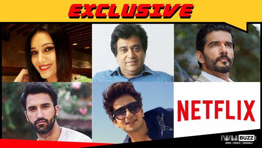 Niki Walia, Manu Rishi Chadha, Taher Shabbir, Gurfateh Singh Pirzada and Fahad Ali in Netflix's Guilty