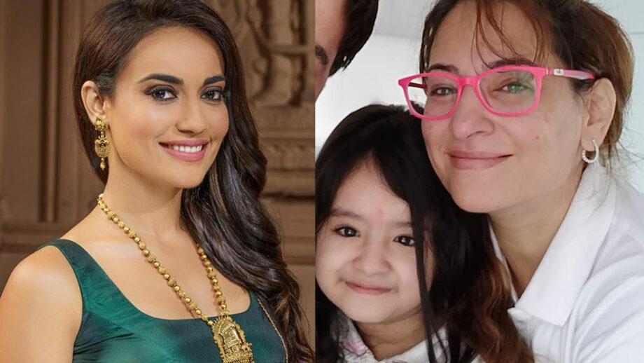 Rakshanda Khan's daughter Enaya is Surbhi Jyoti's cutest fan