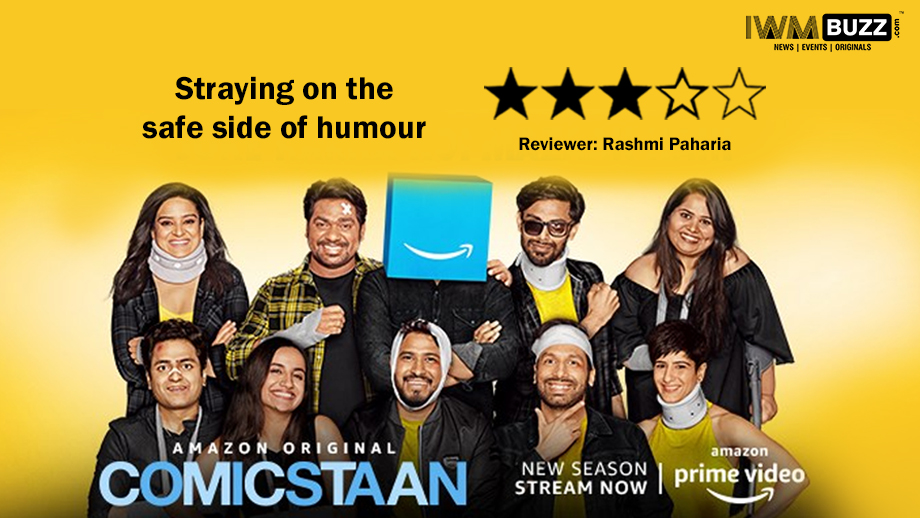 Review of Amazon Prime's Comicstaan Season 2: Straying on the safe side of humour
