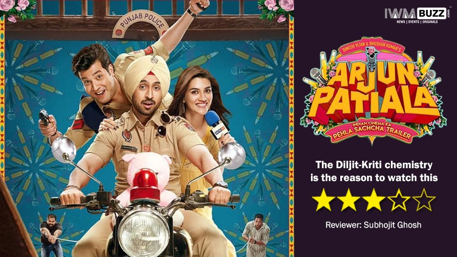 Review of Arjun Patiala: The Diljit-Kriti chemistry is the reason to watch this