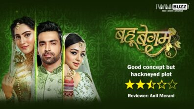 Review of Colors' Bahu Begum: Good concept but hackneyed plot