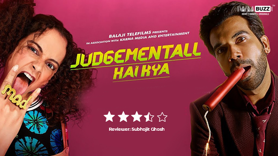 Review of Judgementall Hai Kya: The 'judgement' for this Kangana-Rajkummar starrer is a positive one
