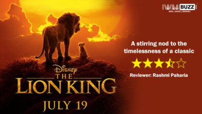 Review of The Lion King: A stirring nod to the timelessness of a classic