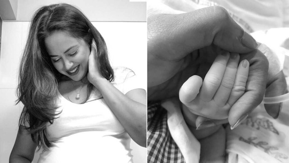 Sameera Reddy becomes the mother of a baby girl
