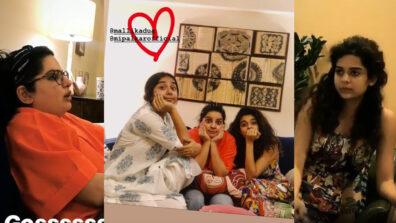 The gossip girls: Prajakta Koli, Mallika Dua and Mithila Palkar