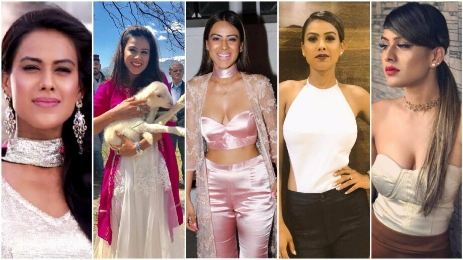 The style evolution of Nia Sharma