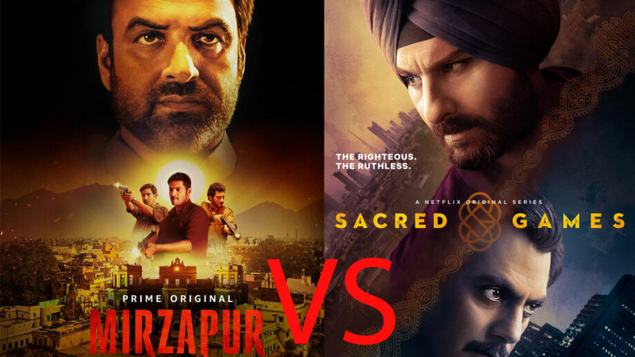 Web series Sacred Games or Mirzapur: Second season you look forward to?