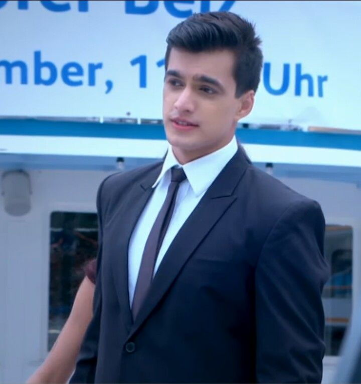 Yeh Rishta Kya Kehlata Hai: Mohsin Khan looks dashing in Black 1