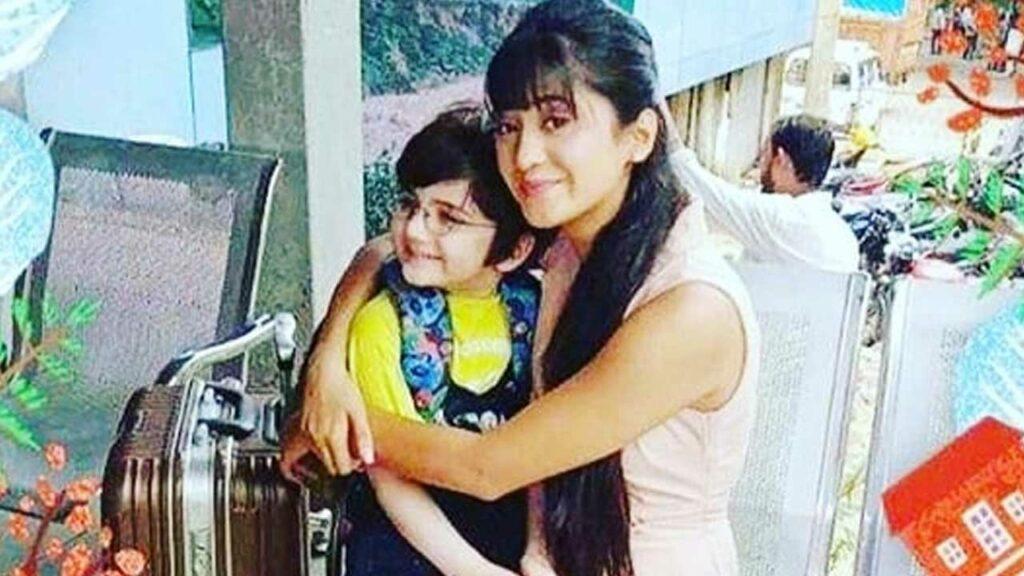 Yeh Rishta Kya Kehlata Hai: Naira and Kairav play a fun game on set