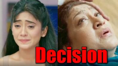 Yeh Rishta Kya Kehlata Hai: Naira's decision post Dadi's heart attack
