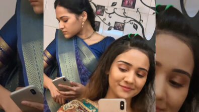 Ashi Singh and Ayesha Kaduskar bond on the sets of Yeh Un Dinon Ki Baat Hai