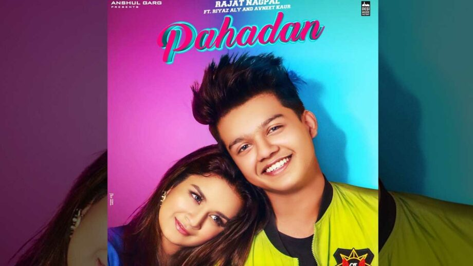 Avneet Kaur and Riyaz Aly's cute chemistry in Pahadan