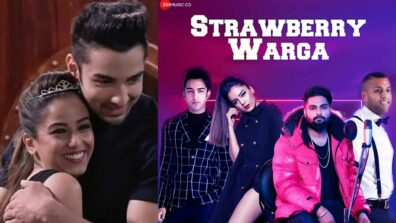 Bigg Boss alleged couple Srishty Rode and Rohit Suchanti's romance in their new song Strawberry Warga 1