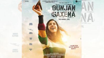 Check out the first look of Janhvi Kapoor in Gunjan Saxena - The Kargil Girl