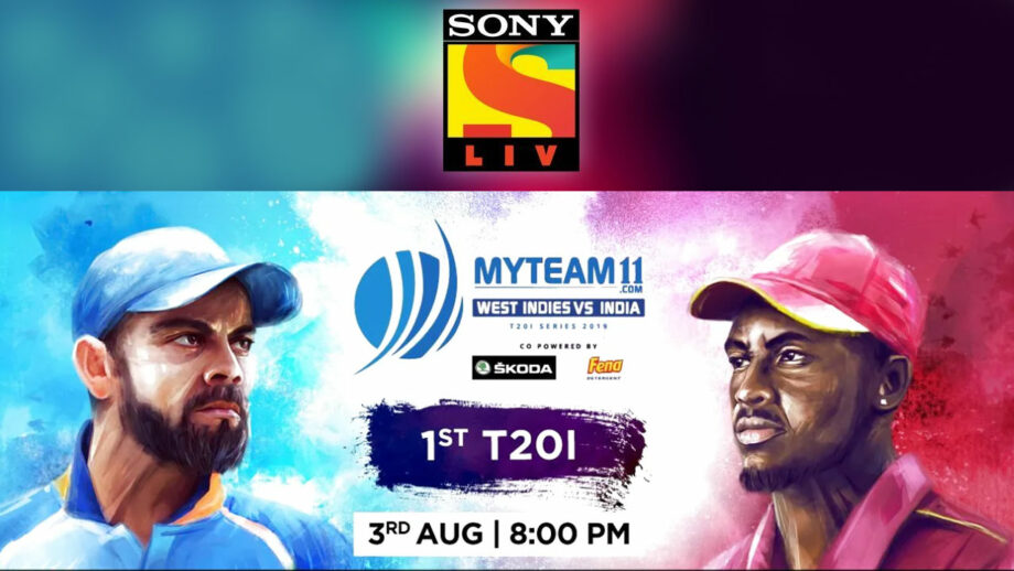 Enjoy a cricketing extravaganza on SonyLiv – India Vs West Indies!