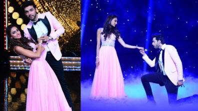Erica and I were super exicted and nervous to perform in Nach Baliye 9: Parth Samthaan