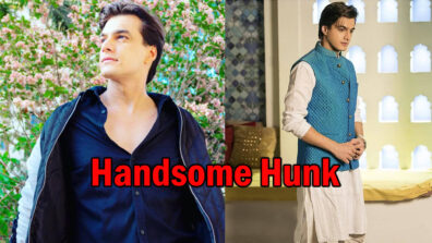 Eye-catching looks of TV's handsome hunk Mohsin Khan
