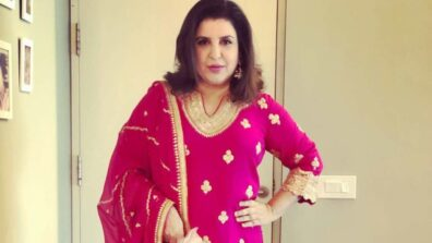 Farah Khan's adorable video of her triplets lip syncing to her song will melt your heart