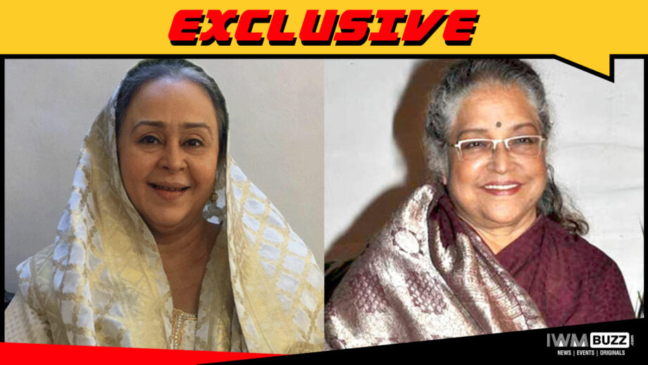 Farida Dadi replaces Shubha Khote in Nimki Vidhayak